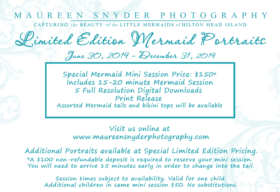Hilton Head Mermaid Portraits